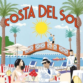 Marbella Beach Club – Costa Del Sol Poster