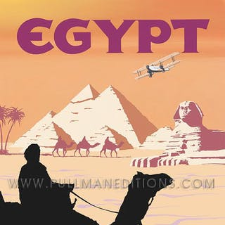 Egypt – Imperial Airways Poster