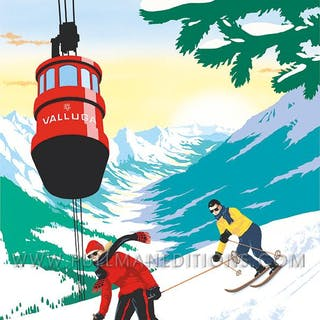 St. Anton: 'Majestic Valley' Poster