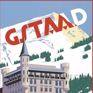 Gstaad: 'Palace Hotel – Day' Poster