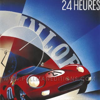 1965 Le Mans 24 Hours Poster