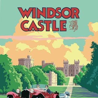 Windsor Castle Concours of Elegance 2016 Poster