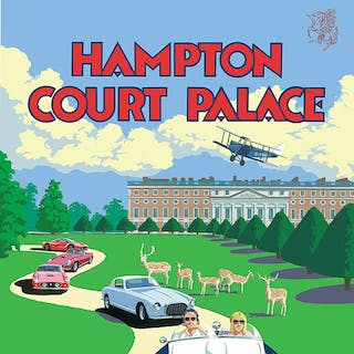 Hampton Court Concours of Elegance 2017 Poster