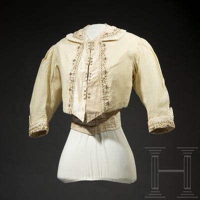 Empress Elisabeth of Austria – the bolero jacket and waist belt of
