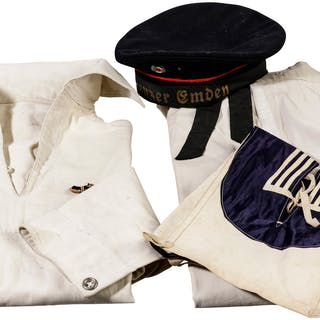 Uniform of a sailor of the Imperial Navy, around 1900