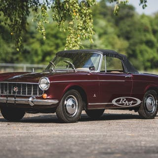 1967 Fiat 1500 Convertible by Pininfarina classic car