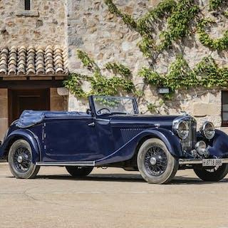 1936 Bentley 4¼-Litre Drophead Coupé by Park Ward classic car