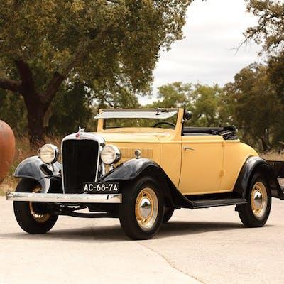 1933 Hudson Essex Terraplane Six Model K Convertible Coupé  classic car