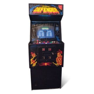 Defender Arcade Game by Williams classic car