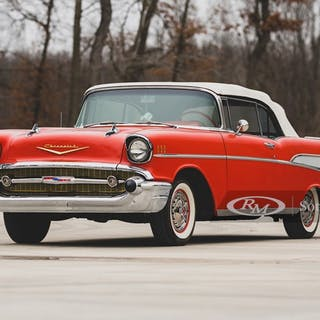 1957 Chevrolet Bel Air Convertible  classic car