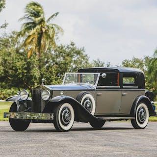 1933 Rolls-Royce Phantom II Newport Town Car by Brewster classic car