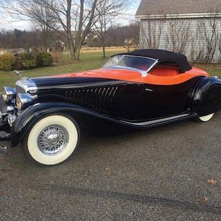 1936 Delahaye USA Duesenberg 'Maharaja' Speedster Replica  classic car