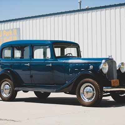 1933 Essex Terraplane Eight Series KT Five-Passenger Sedan  classic car