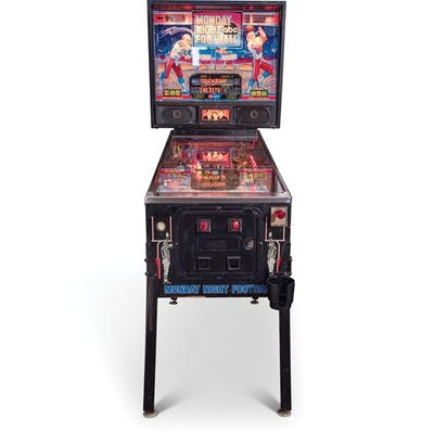 ABC Monday Night Football 20th Anniversary Special Edition Pinball