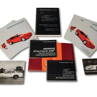 Porsche 924 Carrera GTS Owner's Manual, Service Manual, Brochures