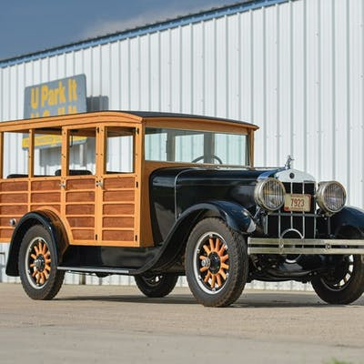 1928 Franklin Series 12B Depot Hack  classic car