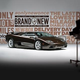 2001 Lamborghini Diablo VT 6.0 SE  classic car