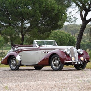 1939 Delahaye 135M Cabriolet by Chapron classic car