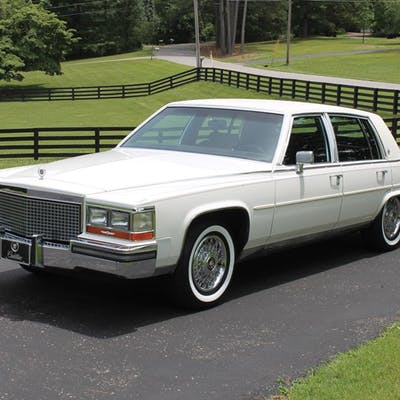 1988 Cadillac Brougham  classic car