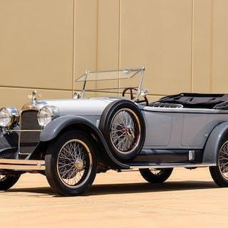 1922 Duesenberg Model A Touring by Millspaugh & Irish classic car