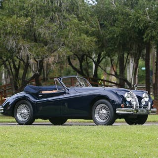 1956 Jaguar XK 140 Drophead Coupe  classic car