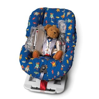 Porsche Convertible Car Seat with Teddy Bear classic car