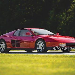 1991 Ferrari Testarossa  classic car