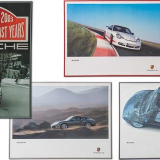 Porsche 996 Framed Posters classic car