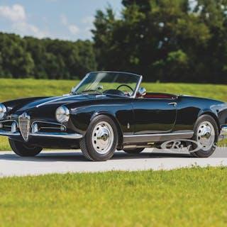 1959 Alfa Romeo Giulietta Spider by Pinin Farina classic car