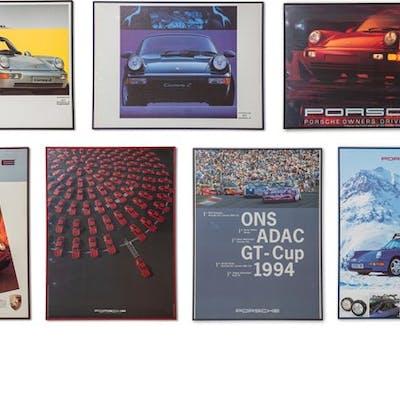 Porsche 964 Framed Posters classic car