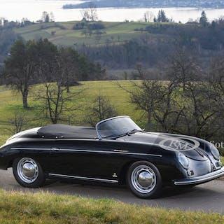 1955 Porsche 356 Speedster by Reutter classic car
