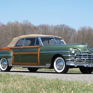 1949 Chrysler Town and Country Convertible  classic car