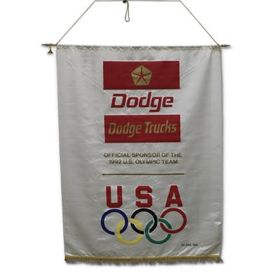 Dodge Trucks Silk Dealership Banner classic car