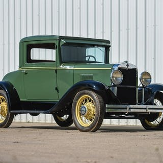 1930 Chevrolet Universal Series AD Two-Passenger Coupe  classic car