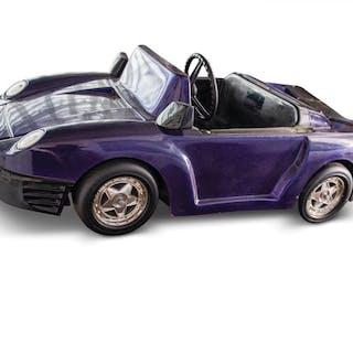 Porsche-Style Kiddie Ride by Elektro-Mobiltechnik classic car