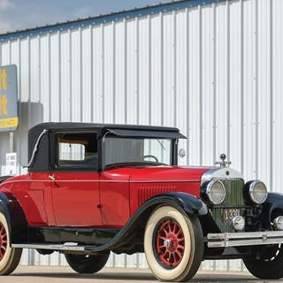 1926 Cadillac Series 314 Two-Passenger Sport Coupe  classic car