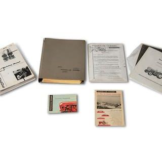Porsche-Diesel Brochures and Service Manual classic car