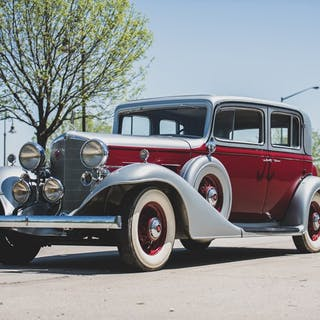1933 LaSalle Five-Passenger Town Sedan by Fisher classic car