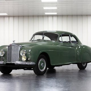 1953 Bentley R-Type Continental Sports Saloon by H.J. Mulliner classic car