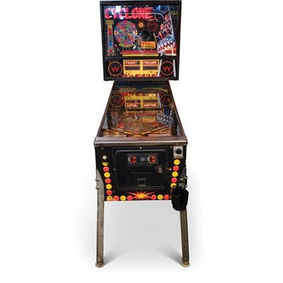 Cyclone Pinball Machine by Williams classic car