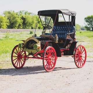 1909 Enger Model B High-Wheel Runabout  classic car