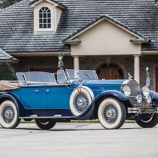 1929 Packard Dual-Cowl Phaeton by Dietrich classic car