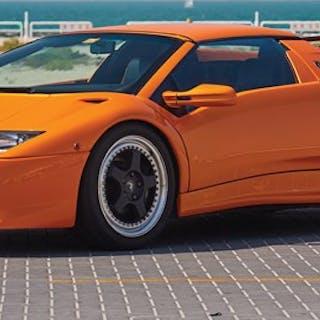 1999 Lamborghini Diablo VT Roadster  classic car