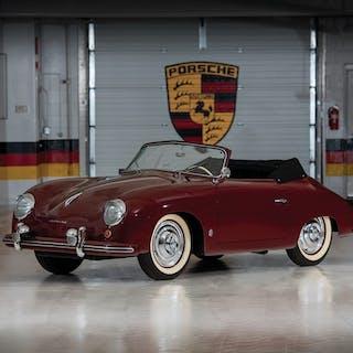 1952 Porsche 356 Cabriolet by Gläser classic car