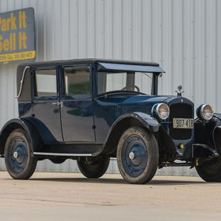 1925 Hupmobile R-15 Five-Passenger Club Sedan  classic car