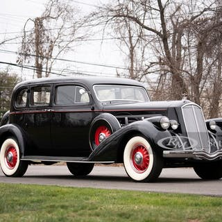1936 Pierce-Arrow Eight Enclosed Drive Limousine  classic car