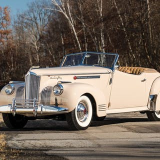 1941 Packard Custom Super Eight One Eighty Convertible Victoria by
