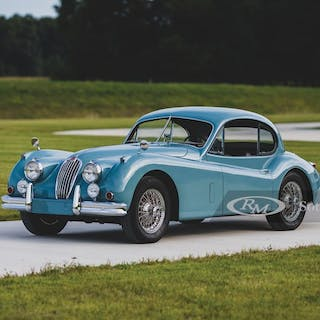 1955 Jaguar XK 140 MC Fixed Head Coupe  classic car