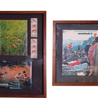 Woodstock Three-Record Set, Concert Tickets, and Collectibles classic car