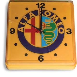 Alfa Romeo Clock classic car